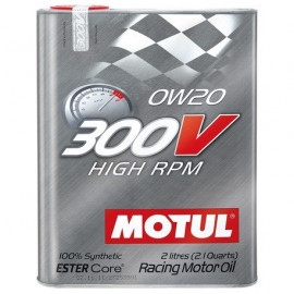 Масло Motul 300V High RPM 0W20 2L
