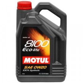 Масло Motul 8100 Eco-lite 0W-20 4L