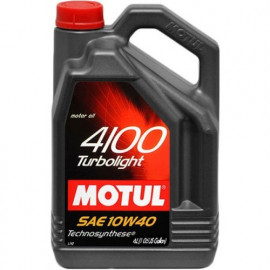 Масло Motul 4100 Turbolight 10W-40 4L
