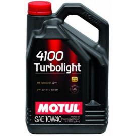 Масло Motul 4100 Turbolight 10W-40 5L