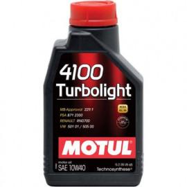 Масло Motul 4100 Turbolight 10W-40 1L