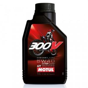 Масло для мотоцикла Motul 300V 4T FL Off Road 5W-40 1L