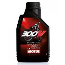 Масло для мотоцикла Motul 300V 4T FL Off Road 15W-60 1L
