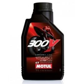 Масло для мотоцикла Motul 300V 4T FL Road Racing 15W-50 1L