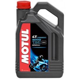 Масло для мотоцикла Motul 3000 4T 10W40 4L