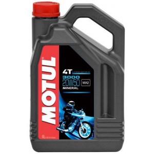 Масло для мотоцикла Motul 3000 4T 20W-50 4L