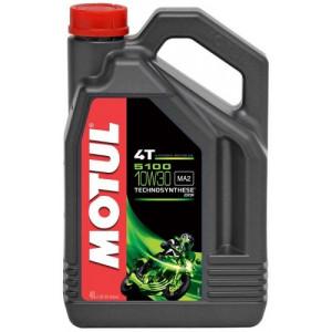 Масло для мотоцикла Motul 5100 4T 10W-30 4L