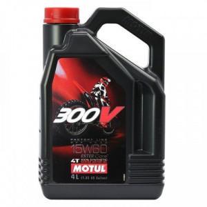 Масло для мотоцикла Motul 300V 4T FL Off Road 15W-60 4L
