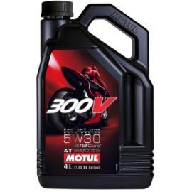 Масло для мотоцикла Motul 300V 4T FL Road Racing 5W-30 4L