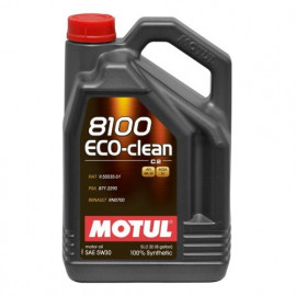 Масло Motul 8100 Eco-clean 5W-30 (C2) 5L