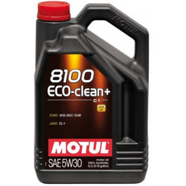 Масло Motul 8100 Eco-clean+ 5W-30 (C1) 5L