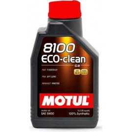 Масло Motul 8100 Eco-clean 5W-30 (C2) 1L
