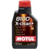 Моторное масло Motul 8100 X-clean+ 5W30 (C3) 1L