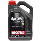 Масло Motul Specific 505.01-502.00-505.00 (VW) 5W-40 5L