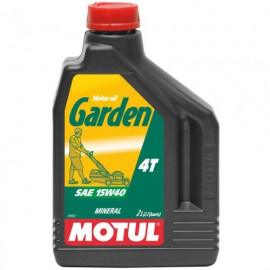 Масло моторное для садовой техники Motul Garden 4T 15W40 2L