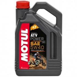 Масло для квадроцикла Motul ATV Power 4T 5W40 4L