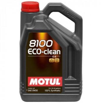 Масло Motul 8100 Eco-clean C2 0W-30 5L