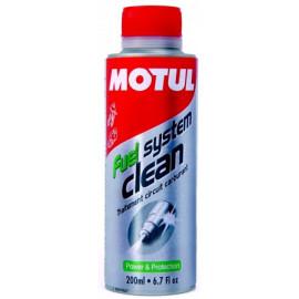 Присадка-очиститель топливной системы мотоциклов Motul Fuel System Clean Moto 0,2L