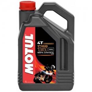 Масло для мотоцикла Motul 7100 4T 10W-50 4L
