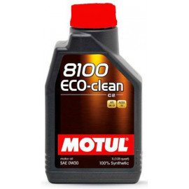 Масло Motul 8100 Eco-clean C2 0W-30 1L
