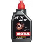 Трансмиссионное масло Motul MotylGear 75W90 1L
