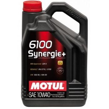 Масло Motul 6100 Synergie+ 10W-40 5L